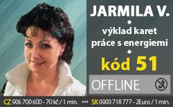 Jarmila Vlasta kód 51
